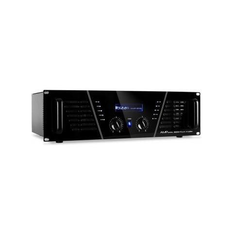 Ibiza sound Amplificatore Professionale Stereo Autoventilato 1200w Art 152032