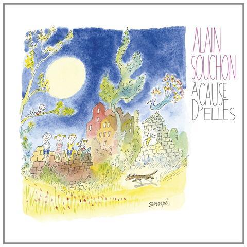 VIRGIN Alain Souchon - A Cause D'Elles