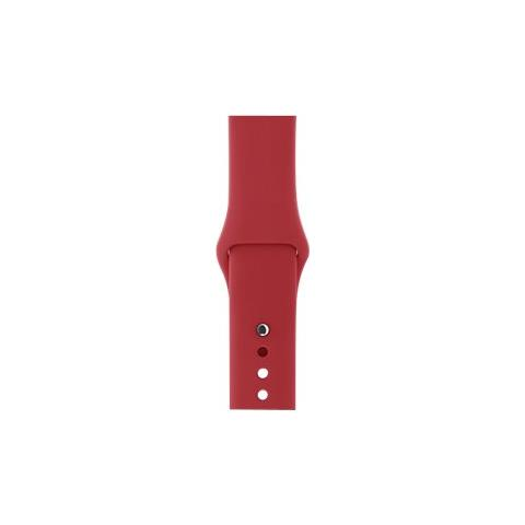 APPLE 38MM (PRODUCT) RED SPORT BAND