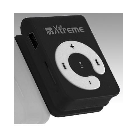 XTREME 4GB, MP3, Nero, Digitale, Status, Flash-media, 2 GB