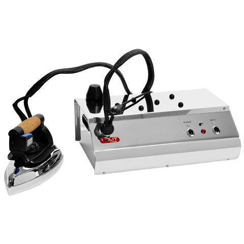 LELIT PS1R Ferro da Stiro Con Caldaia Potenza 1400 Watt Colore Inox