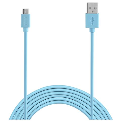 AIINO Samsung Micro USB to USB reversible cable - Blue