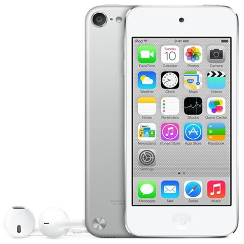 Image of iPod Touch 32GB Display Retina 4'' IPS Multi-Touch Fotocamera 8Mpx con AirPlay iCloud Bluetooth / Wi-Fi Colore Argento
