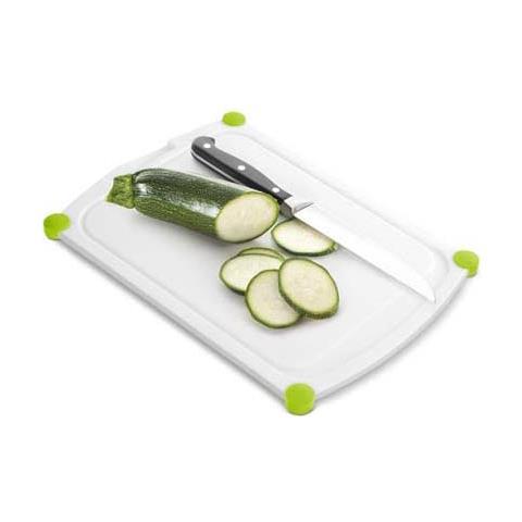 Tagliere nylon perfect cut 35x25 bianco verde