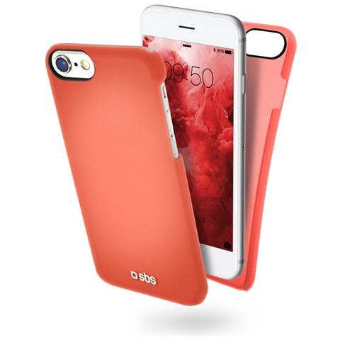 SBS Cover Colorfeel Per Iphone 7 Rosso
