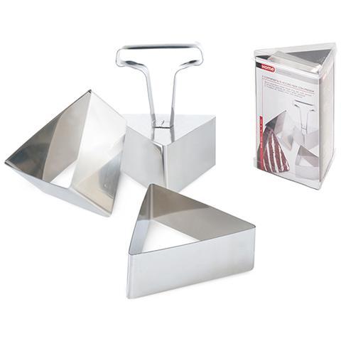 Confezione 3 Coppapasta Inox Triang Cm8 Strumenti Da Cucina