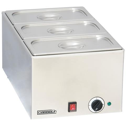 Bagnomaria Inox 3 Vasche 1200 Watt