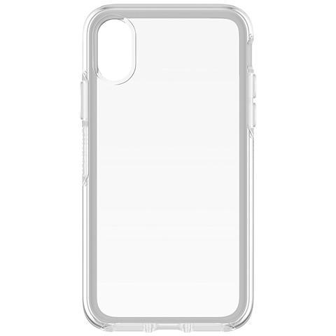 OTTERBOX Cover in Plastica per iPhone X Colore Trasparente