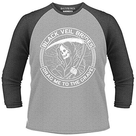 PHM Black Veil Brides - Reaper (T-Shirt Unisex Manica 3/4 Tg. M)