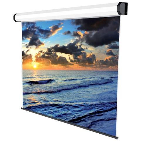 SOPAR electric screen prof 180x180 Black