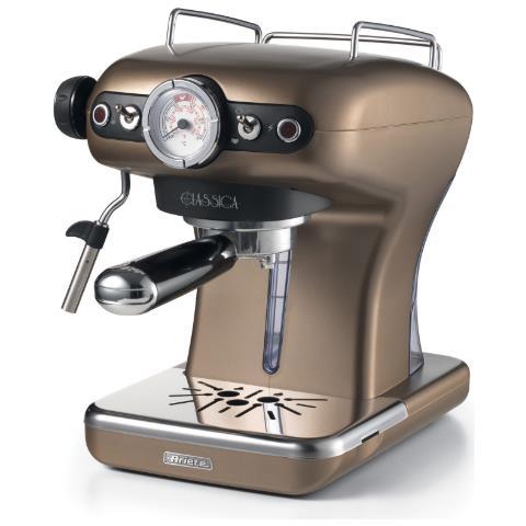 Macchina Caffe' Espresso Classica Colore Bronzo 1389