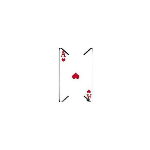 SMARTBUNNY Pellicola adesiva SKIN ACE OF HEART per iPhone