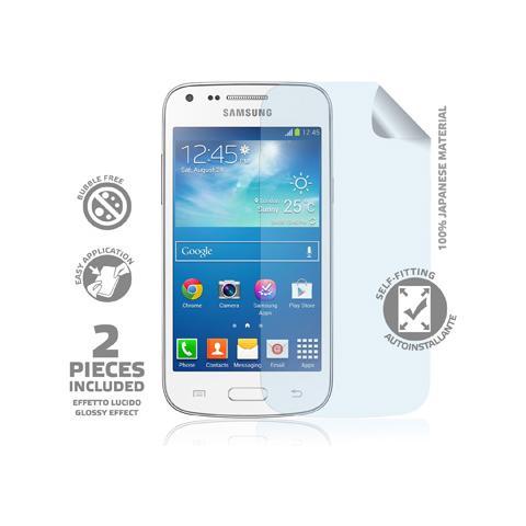 CELLY Pellicola Protettiva per Galaxy Core Plus + Panno microfibra
