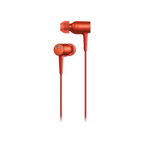 SONY MDREX750NAR Cuffie h. ear Rosso Scarlatto