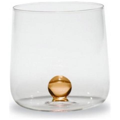 Set 6 Bicchieri Tumbler Bilia Giallo Oro