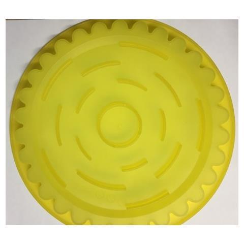 Stampo In Silicone Forma Crosata, Multicolor, 28x28x4