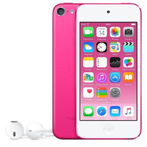 Image of iPod Touch 64GB Display Retina 4'' IPS Multi-Touch Fotocamera 8Mpx con AirPlay iCloud Bluetooth / Wi-Fi Colore Rosa