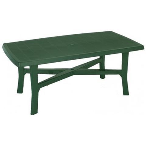 Tavolo rettangolare Colore Verde - Modello Senna