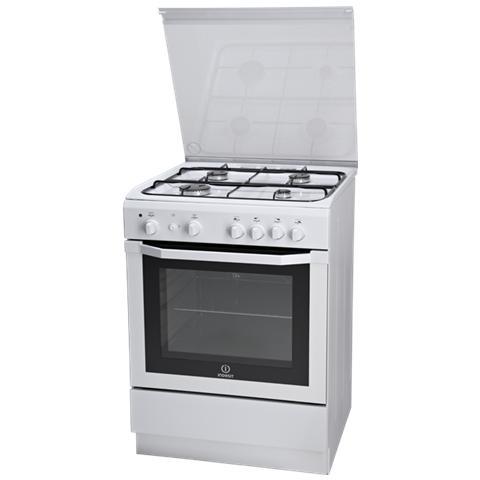 Cucina a Gas I6GG1F. 1 (W) / I 4 Fuochi a Gas Forno a Gas Classe A Dimensioni 60 x 60 cm C...