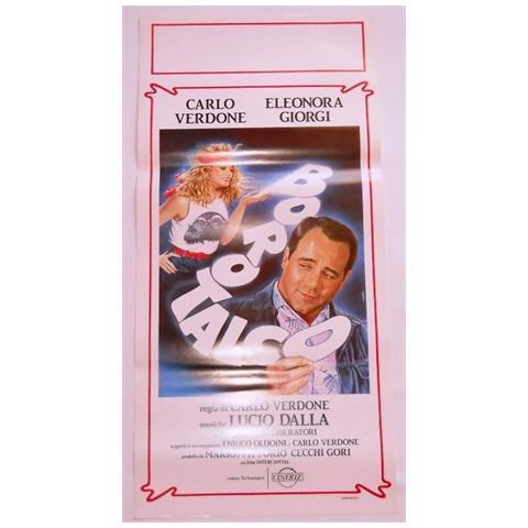 Vendilosubito Locandina Del Film Borotalco Carlo Verdone Eleonora Giorgi 1982