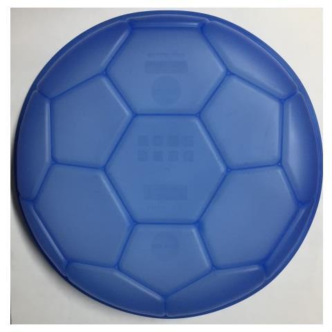 Stampo In Silicone Forma Pallone Da Calcio, Multicolor, 27x27x4,5