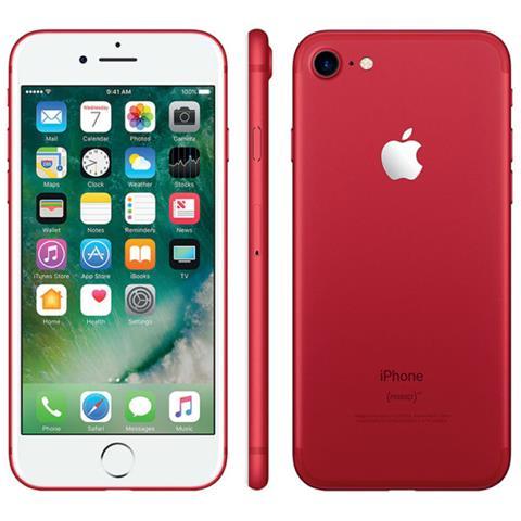 Apple iPhone 7 Plus 128 GB Rosso (Ricondizionato GOLD)