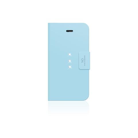 WHITE DIAMONDS crystal wallet cyan iphone 6 plus