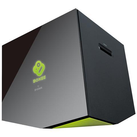 D-LINK Lettore Multimediale Boxee Box Full HD 2 x USB 2.0 / HDMI / LAN Colore Nero