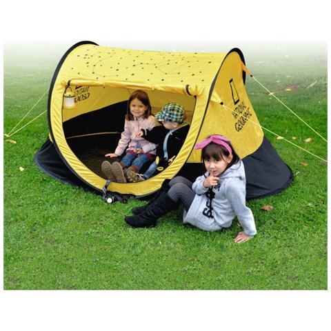 Set Outdoor Campeggio composto da Tenda Binocolo e Lanterna 2 in 1