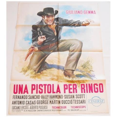 Vendilosubito Manifesto 2f Originale Una Pistola Per Ringo Giuliano Gemma 1965