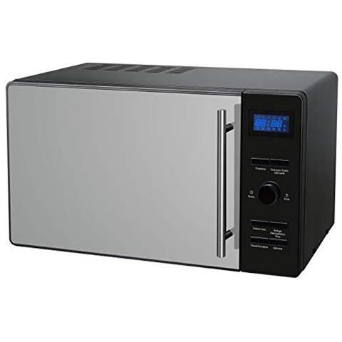 Cemo23cgbm–microonde Combinato Grill Nero Porta Specchio–23l