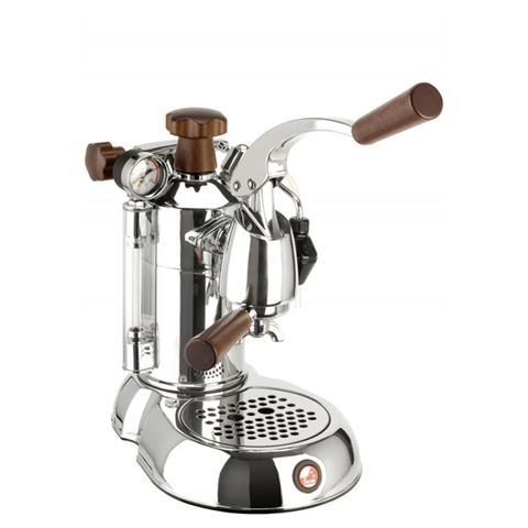 SPH Stradivari Professional Lusso Macchina da Caffè Espresso Manuale Manici in legno Serbatoio 1.6 Litri Potenza 1000 Watt