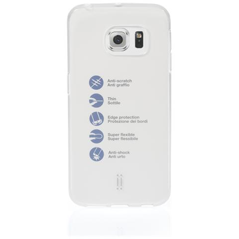 AIINO Custodia Gumshell per Samsung S6 Edge Plus - Clear