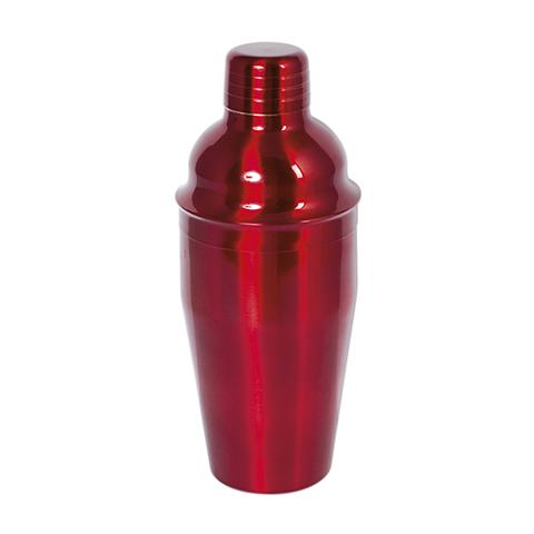 Shaker Cocktail Inox Rosso Cl55 Strumenti Da Cucina
