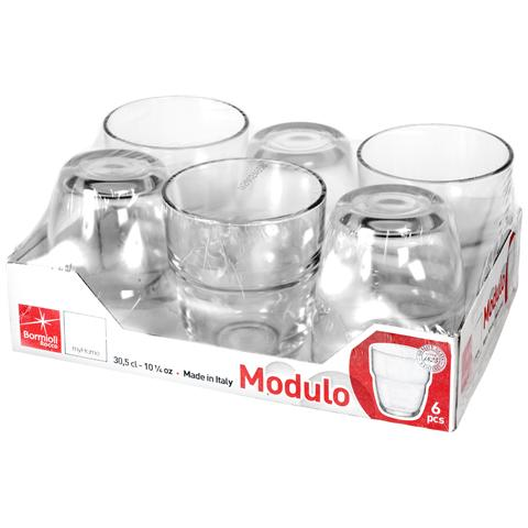 Vss 6 Bicchieri In Vetro Modulo Acqua Cl30.5