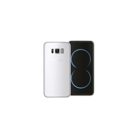 PHONIX ITA Cover gel protection+ white samsung galaxy s8 plus