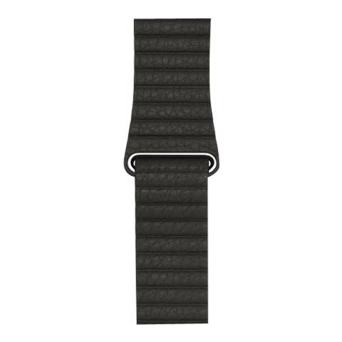 APPLE 42MM CHARCOAL GRAY LEATHER L