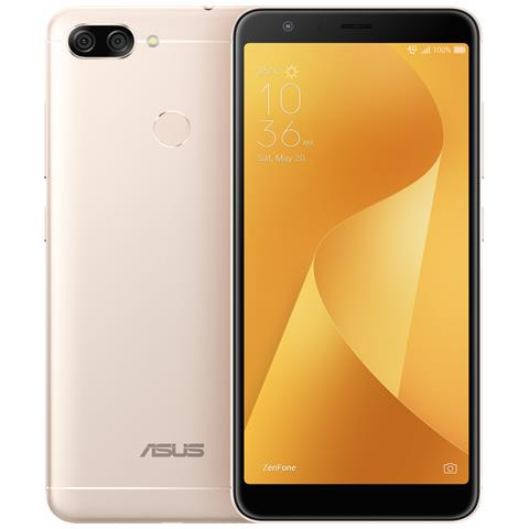 "ASUS Zenfone Max Plus Oro 32 GB 4G / LTE Dual Sim Display 5.7"" Full HD Slot Micro SD Fotocamera 16 Mpx Android Italia"