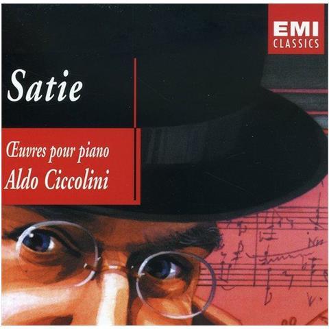 WARNER BROS Erik Satie - Oeuvres Piano - Aldo Ciccolini (2 Cd)