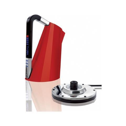 Bollitore Elettronico Vera Capacità 1,7 Litri Potenza 2400 Watt Colore Rosso