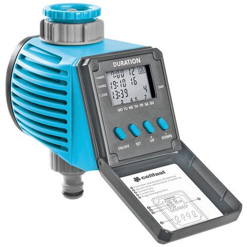 Manuale Con Il Timer Automatico Digitale Programmabile Acqua Per L'irrigazione Tubo Da Gia...