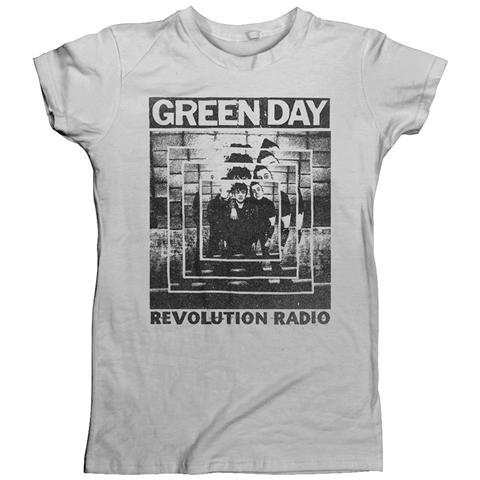 PHM Green Day - Power Shot T-Shirt, Girlie Womens: 8