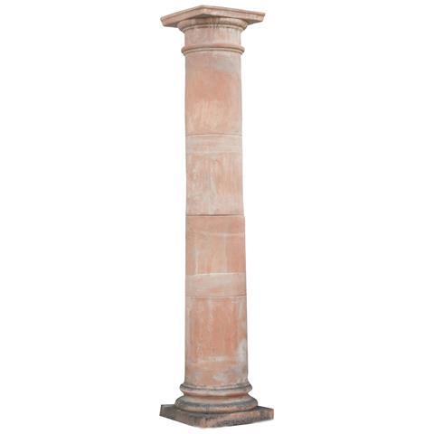 Colonna Pergola Invecchiata In Terracotta Toscana L46xpr46xh233 Cm