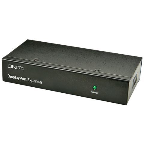 LINDY Splitter Expander DisplayPort 3 Porte