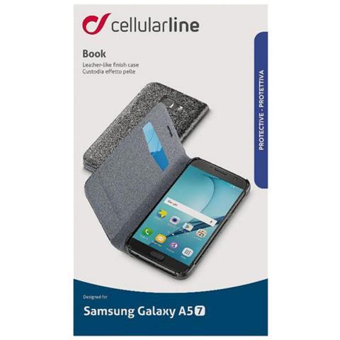 CELLULAR LINE Custodia Libro Essential per Galaxy 5 Colore Nero