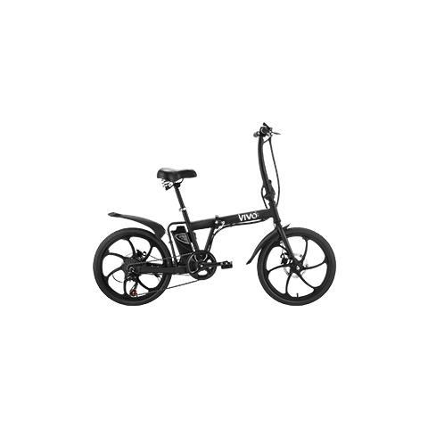 """Vivo Bike Bicicletta Fold Vivo VF20 Pieghevole 20"""" Telaio in Acciaio"""