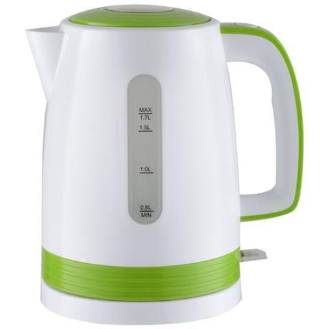 Etf1793bollitore Elettrico 1.7l 2200w Bianco E Verde 1.7litro, 2200