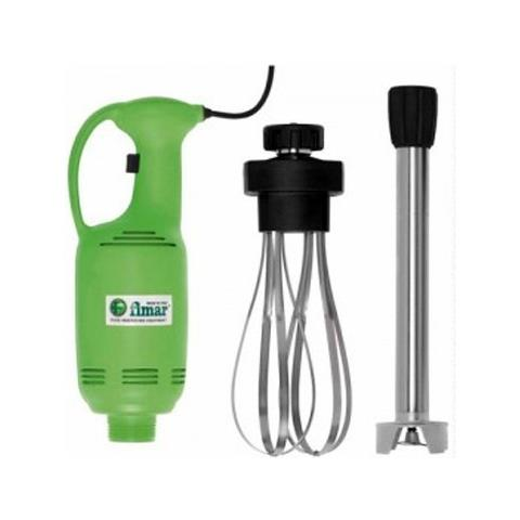 Frullatore Mixer ad immersione completo di blocco motore + frusta + mescolatore cm. 40