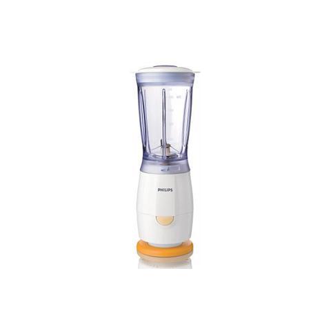 HR2860/55 Mini Frullatore / Tritatutto Capacità 0,4 Litri Potenza 220 Watt Colore Bianco / Arancione