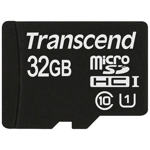 TRANSCEND MicroSDHC Class 10 UHS-I da 32 GB
